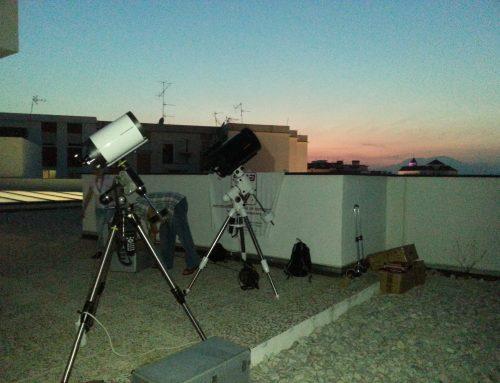 Observación de la SMA en Alhaurín el Grande
